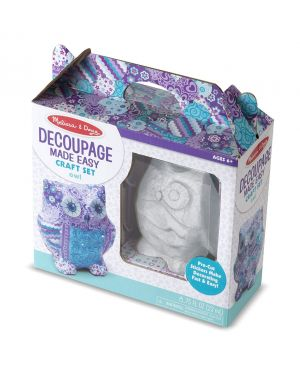 MELISSA AND DOUG DECOUPAGE MADE EASY - OWL