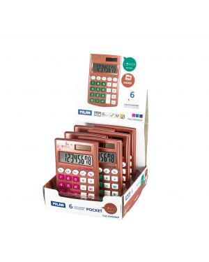 JISS MILAN CALCULADORA POCKET COPPER