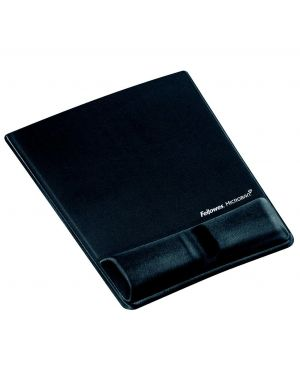 FELLOWES MOUSE PAD REPOSAMUÑECAS CON MICROBAN GRAFITO