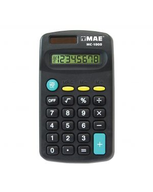 MAE CALCULADORA DE BOLSILLO 8 DIGITOS