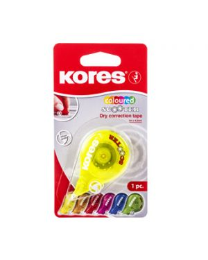 KORES CORRECTOR CINTA SCOOTER NEON 8M X 4,2MM BLISTER
