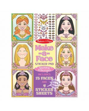 MELISSA AND DOUG MAKE-A-FACE PRINCESSES