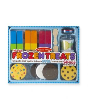 MELISSA AND DOUG WOODEN FROZEN TREATS