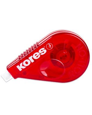KORES CORRECTOR CINTA ROLL ON ROJO 15M X 4,2MM