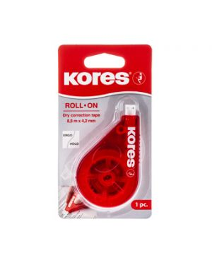 KORES CORRECTOR CINTA ROLL ON ROJO 15M X 4,2MM BLISTER