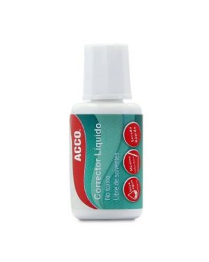 ACCO CORRECTOR LIQUIDO 20ML DISPLAY