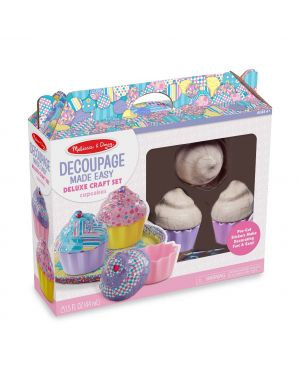 MELISSA AND DOUG DECOUPAGE MADE EASY - CUPCAKES